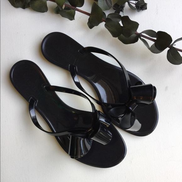 f6b3f290e77f6 Valentino Couture Bow Jelly Flat Thong Sandal sz10.  M 5c54727845c8b38547cc1728